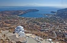 Serifos : Potamia et Galani, le nord de l'île.